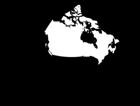 Globe Set 10 - Canada Matte Animation