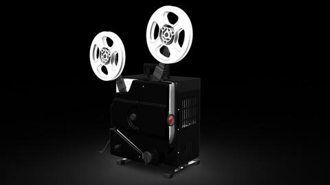 Film Projector Animation