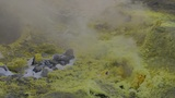 Vulcano Fumarole Close Up 04 stock footage