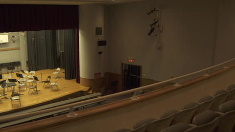 School Auditorium (1 Of 2) stock footage