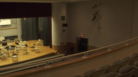 School Auditorium (2 Of 2) stock footage