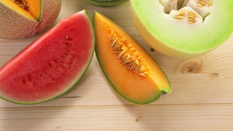 Melons stock footage