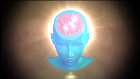 Subconscious Mind 002 stock footage