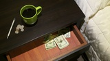 Money Drawer stock footage