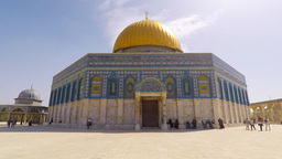 Dome of the rock - Jerusalem, Israel Footage