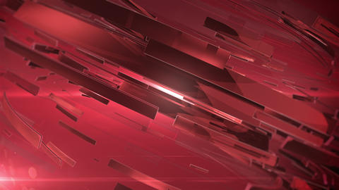 Beautiful Red 3d animation of abstract background Animation