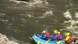 White water rafting in Colorado Footage