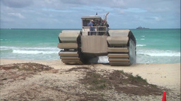 The Ultra Heavy-Lift Amphibious Connector Advanced Warfighting Experiment Footage
