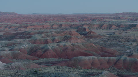 Painted Desert morning 1 Footage
