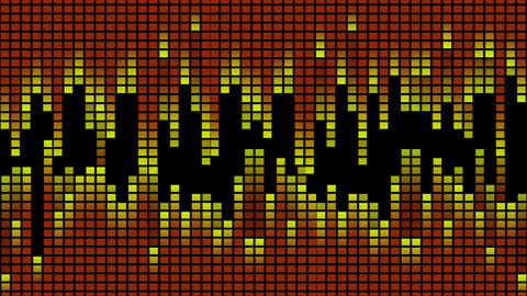 Hot Equalizer 02 Vj Loop Animation