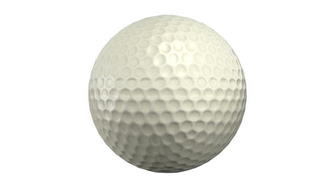 Golf ball CG動画素材
