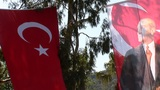 Ataturk flag Footage
