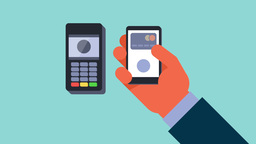 Mobile Payment stock footage