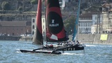 Alinghi compete in the Extreme Sailing Series Footage