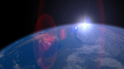Earth From Space stock footage