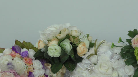 Bouquet For The Bride stock footage
