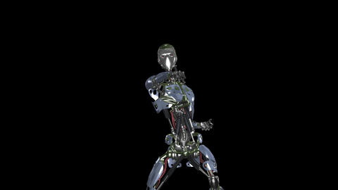 Iron Man Fighter - II - MS - Transparent Animation