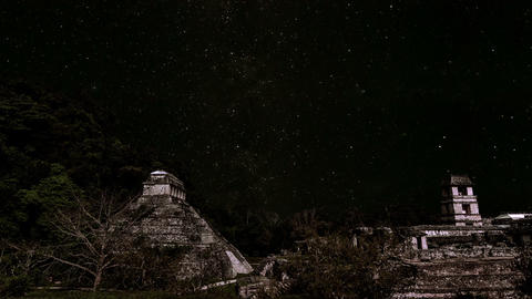Stars Passing over Palenque Animation