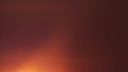Incandescent Red Orb Of The Sun At Sunrise 18 stock footage