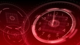 10 seconds to 12 - Hi-tech Clock 85 (HD) Animation
