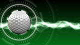 Golf Ball Background 01 (HD) CG動画素材