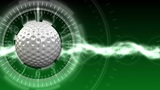 Golf Ball Background 02 (HD) CG動画素材