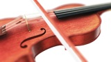 Violin, Seamless Loop On White Background stock footage