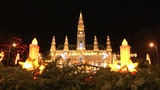 Christmas Lights In Vienna stock footage