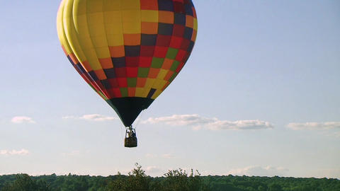 Hot Air Balloon Takes Flight Footage