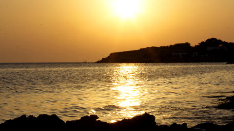 ibiza sunset02 Footage