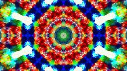 Colorful Kaleidoskope Patterns, Pure Geometry Abstract Background stock footage