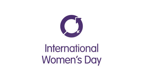 International Womens Day - Intro stock footage