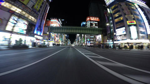 Rapidly Growing To Be The Most Popular Area In Tokyo. Akihabara's Main Strip Ill stock footage