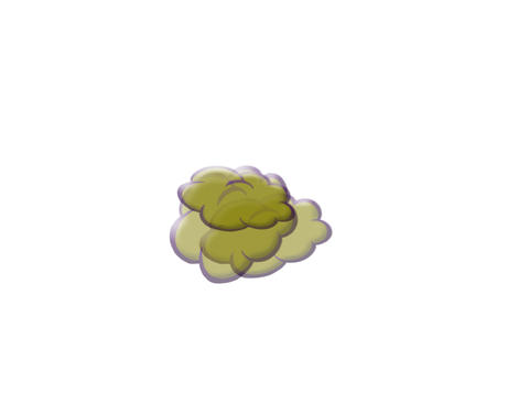 Fart Cloud stock footage