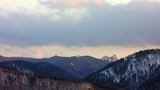 Mountains Landscape stock footage