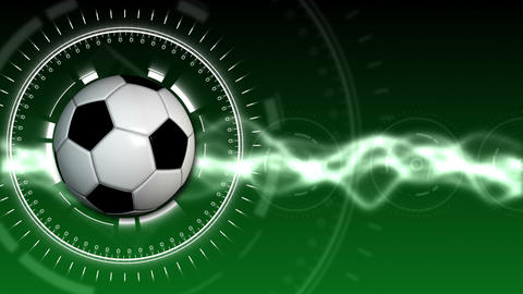 Soccer Ball Sport Background 01 (HD) stock footage