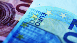 4K Euro Money Banknote stock footage