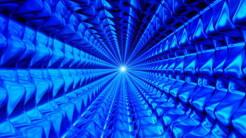Broadcast Endless Hi-Tech Tunnel 18 stock footage