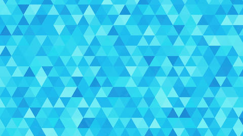 Triangles Animation, Pattern Of Geometric Shapes. Colorful-mosaic Background stock footage