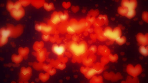 Heart Radial Red1 stock footage