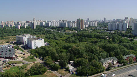 Moscow New Building stock footage