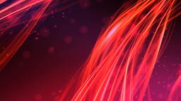 Red Magma Ambient Relaxed Particles Animation stock footage