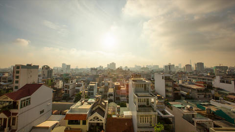 Hochiminh TimeLaps Footage