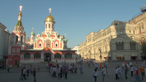 The Interior Of An Orthodox Church stock footage