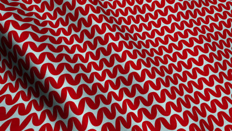 Red Wool Fabric Cloth Material Texture Seamless Looped Background stock footage