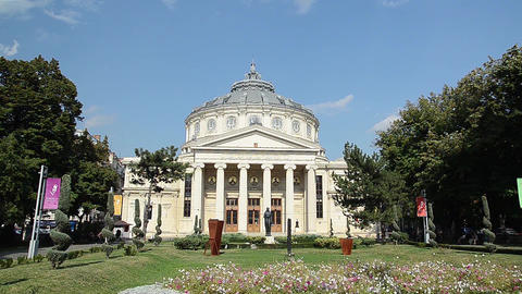 The Romanian Athenaeum Footage