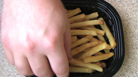 French Fries Time Lapse Footage