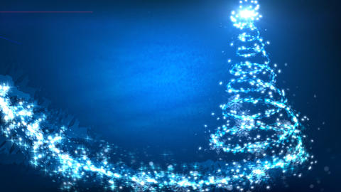 Christmas Tree stock footage