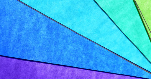 Rainbow Colored Umbrella Abstract Background stock footage