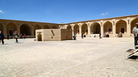 In iran antique palace and caravanserai 003 Footage